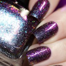 AVAILABLE AT GIRLY BITS COSMETICS www.girlybitscosmetics.com Stars of Heaven FAlling (Little Mermaid Collection) by Femme Fatale | Swatch courtesy of  @chrissyslackwahnsinn