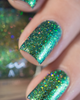 AVAILABLE AT GIRLY BITS COSMETICS www.girlybitscosmetics.com The Mermaid's Tail (Little Mermaid Collection) by Femme Fatale | Swatch courtesy of @ilaeti