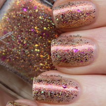 AVAILABLE AT GIRLY BITS COSMETICS www.girlybitscosmetics.com We're All Just Stardust - Jan COTM by Femme Fatale | Swatch courtesy of  @emilydemolly