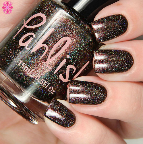 Girly Bits Cosmetics Crying Wolf - Shop Exclusive by Pahlish   Swatch courtesy of Cosmetic Sanctuary