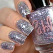 AVAILABLE AT GIRLY BITS COSMETICS www.girlybitscosmetics.com Invisibility Cloak (Harry Potter - Deathly Hollow Trio) by Pahlish | Swatch  credit: Delishious Nails