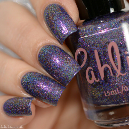 AVAILABLE AT GIRLY BITS COSMETICS www.girlybitscosmetics.com Apollo (Atmospheres Collection) by Pahlish | Swatch  credit: Delishious Nails