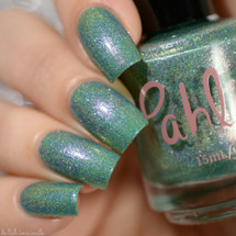 AVAILABLE AT GIRLY BITS COSMETICS www.girlybitscosmetics.com Weightless (Atmospheres Collection) by Pahlish | Swatch  credit: Delishious Nails