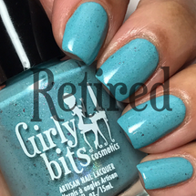 Girly Bits Cosmetics Robin Me Blind (CoTM April 2017) | Swatch courtesy of @luvlee226