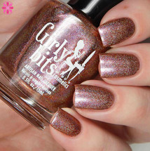 Girly Bits Cosmetics All Bronze No Brains (CoTM April 2017)   Swatch courtesy of Cosmetic Sanctuary