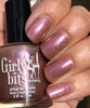 Girly Bits Cosmetics All Bronze No Brains (CoTM April 2017)   Swatch courtesy of My Nail Polish Obsession