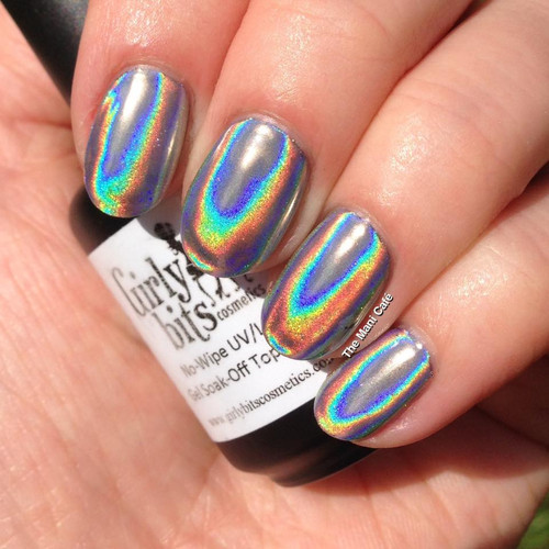 Ultra Holochrome powder by Girly Bits | Swatch by Mani Cafe