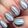 Ultra Holochrome powder by Girly Bits | Swatch by The Polished Hippy