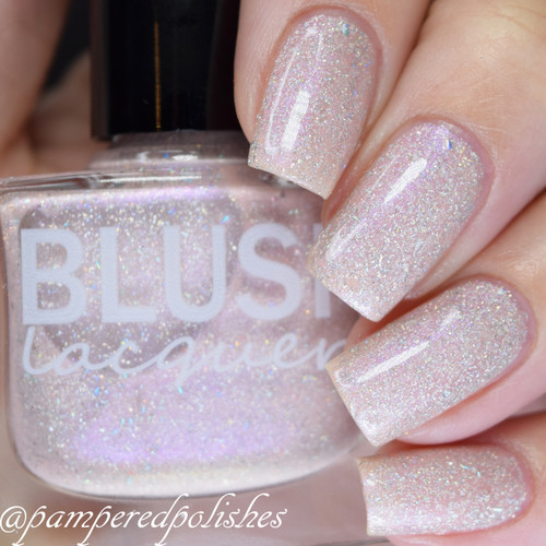 AVAILABLE AT GIRLY BITS COSMETICS www.girlybitscosmetics.com Faded Flowers (Flower Gathering Collection) by Blush Lacquers | Photo credit: @pamperedpolishes