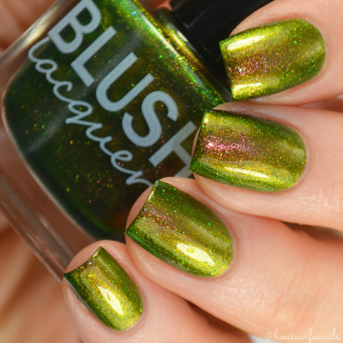 AVAILABLE AT GIRLY BITS COSMETICS www.girlybitscosmetics.com Candelabra-cadabra (Midnight Masquerade Collection) by Blush Lacquers   Photo credit: @housewifenails