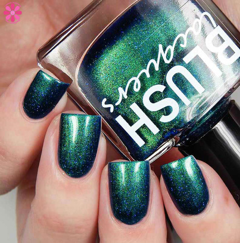 AVAILABLE AT GIRLY BITS COSMETICS www.girlybitscosmetics.com Kiss the Frog (Midnight Masquerade Collection) by Blush Lacquers | Photo credit: @cosmeticsanctuary