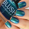 AVAILABLE AT GIRLY BITS COSMETICS www.girlybitscosmetics.com Kiss the Frog (Midnight Masquerade Collection) by Blush Lacquers | Photo credit: @housewifenails