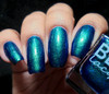 AVAILABLE AT GIRLY BITS COSMETICS www.girlybitscosmetics.com Kiss the Frog (Midnight Masquerade Collection) by Blush Lacquers | Photo credit: @thepolishedmage