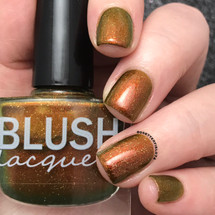 AVAILABLE AT GIRLY BITS COSMETICS www.girlybitscosmetics.com The Golden Hour (Midnight Masquerade Collection) by Blush Lacquers | Photo credit: @dsetterfield74