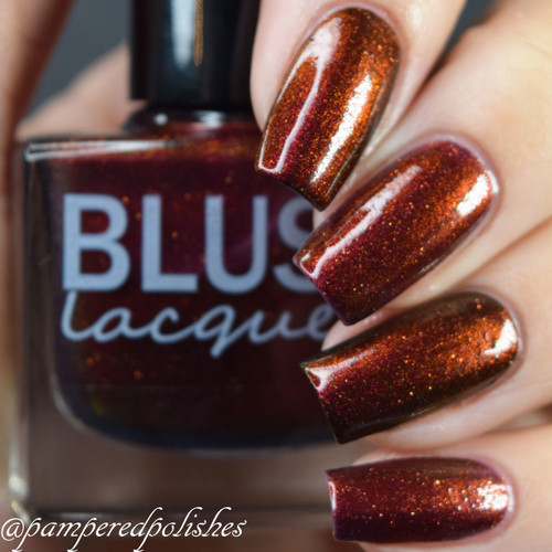 AVAILABLE AT GIRLY BITS COSMETICS www.girlybitscosmetics.com The Secret Door (Midnight Masquerade Collection) by Blush Lacquers | Photo credit: @pamperedpolishes