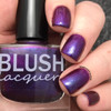 AVAILABLE AT GIRLY BITS COSMETICS www.girlybitscosmetics.com Lady of the Mask (GWP when purchasing the Full 6 piece Midnight Masquerade Collection) by Blush Lacquers | Photo credits: @dsetterfield74