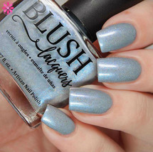 AVAILABLE AT GIRLY BITS COSMETICS www.girlybitscosmetics.com Aisle Be Waiting - Girly Bits Shop Exclusive By Blush Lacquers | Photo credit: Cosmetic Sanctuary