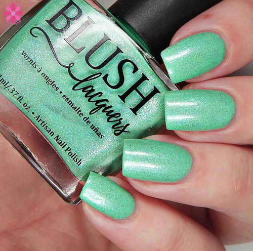 AVAILABLE AT GIRLY BITS COSMETICS www.girlybitscosmetics.com Can't Buy Me Love - Girly Bits Shop Exclusive By Blush Lacquers   Photo credit: Cosmetic Sanctuary