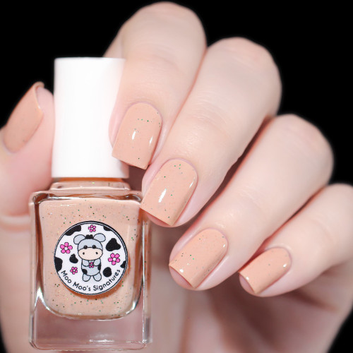 AVAILABLE AT GIRLY BITS COSMETICS www.girlybitscosmetics.com Apple Blossom (Blossom In Spring Duo) by Moo Moo's Signatures