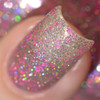 Girly Bits Cosmetics Sequins & Satin Pants (GWP) from the Sequins & Satin Pants Collection - NOT SOLD SEPARATELY | Swatch courtesy of Delishious Nails