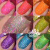 Girly Bits Cosmetics  the Sequins & Satin Pants 7 Piece Collection + GWP | Swatches courtesy of Delishious Nails