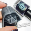 AVAILABLE FOR PRE-ORDER AT GIRLY BITS COSMETICS www.girlybitscosmetics.com Just too Hoth to Touch by Bluebird Lacquer (Part of the Light Side Duo from the Star Wars Collection with Native War Paints) | Swatch courtesy of @goldnchyld