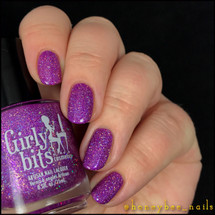 Girly Bits Cosmetics Stayin' Alive from the Sequins & Satin Pants Collection | Swatch courtesy of @honeybee_nails