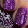 Girly Bits Cosmetics Stayin' Alive from the Sequins & Satin Pants Collection   Swatch courtesy of @honeybee_nails