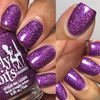 Girly Bits Cosmetics  Stayin' Alive from the Sequins & Satin Pants Collection   Swatch courtesy of IG @luvlee226