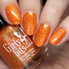 GIRLY BITS COSMETICS Funky Town from the Sequins & Satin Pants Collection | Swatch courtesy of Nail Polish Society
