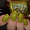 Girly Bits Cosmetics Jive Talkin' from the Sequins & Satin Pants Collection | Swatch courtesy of Delishious Nails