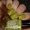 Girly Bits Cosmetics Polish Jive Talkin' from the Sequins & Satin Pants Collection | Swatch courtesy of Delishious Nails