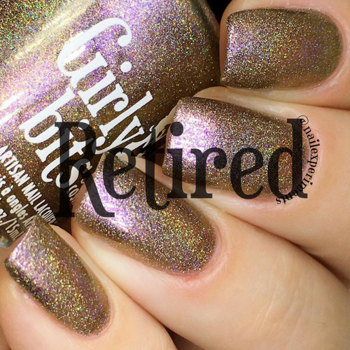 Diamonds In The Sand | Girly Bits for Multichrome Madness | Swacth by @NailEcxperiments