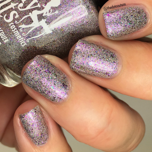 GIRLY BITS COSMETICS Sugar Beach {Indie Expo Canada Limited Edition} | Swatch courtesy of The Dot Couture