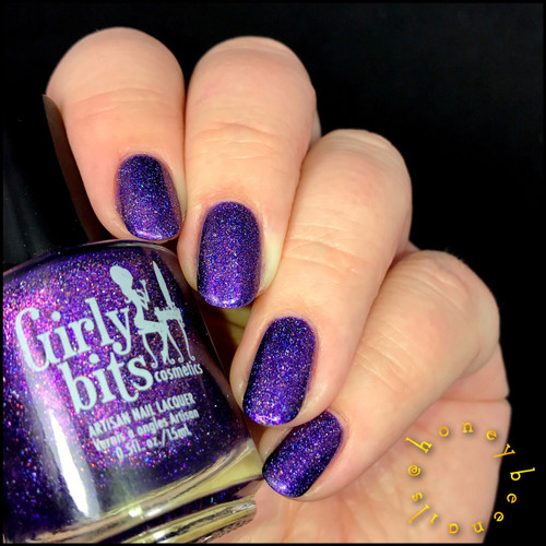 Budget? Fuggedaboudit! {The Road to Polish Con} by Girly Bits | swatch by IG@honeybee_nails