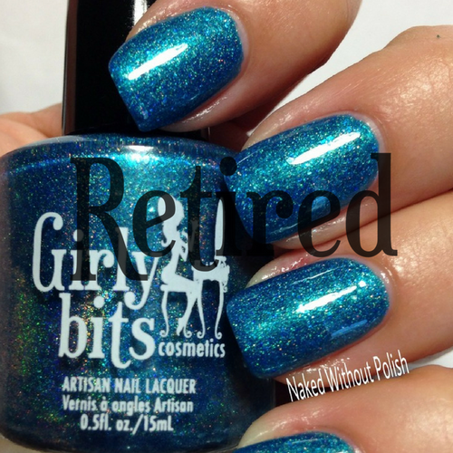 V.I.Polish {Polish Con NYC 2017 LE} by Girly Bits | swatch by Naked Without Polish