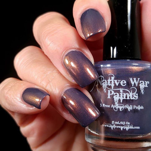 AVAILABLE AT GIRLY BITS COSMETICS www.girlybitscosmetics.com Brokelyn (Limited  Edition) by Native War Paints | Swatch  provided by IG@hospitalhands