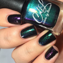 AVAILABLE AT GIRLY BITS COSMETICS www.girlybitscosmetics.com Chameleon - Stamping Polish by Colors by Llarowe | Swatch courtesy of IG@mrswhite8907