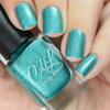 AVAILABLE AT GIRLY BITS COSMETICS www.girlybitscosmetics.com High School Was Rough Man (Krispy Kreme Dreams Collection) by Colors by Llarowe   Swatch courtesy of IG@jennpaddict1