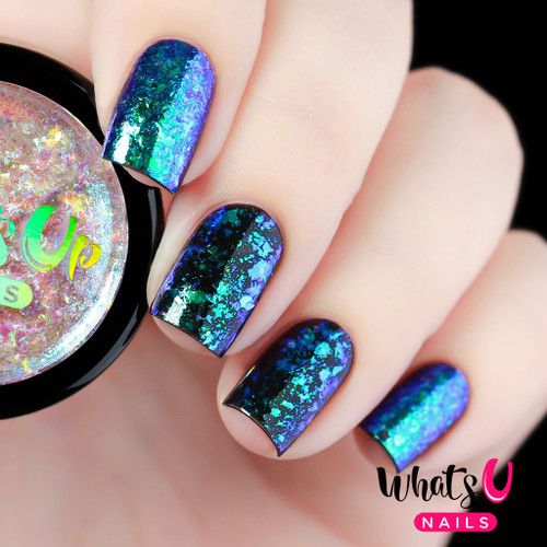 AVAILABLE AT GIRLY BITS COSMETICS www.girlybitscosmetics.com Breeze Flakies by Whats Up Nails