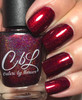 AVAILABLE AT GIRLY BITS COSMETICS www.girlybitscosmetics.com Hearts of Fire (Valentines 2017 Collection) by Colors by Llarowe | Swatch courtesy of My Nail Polish Obsesssion