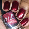 AVAILABLE AT GIRLY BITS COSMETICS www.girlybitscosmetics.com Hearts of Fire (Valentines 2017 Collection) by Colors by Llarowe | Swatch courtesy of The Painted Fox