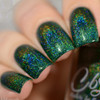 AVAILALBE AT GIRLY BITS COSMETICS www.girlybitscosmetics.com That Little Green Monster (Valentines 2017 Collection) by Colors by Llarowe | Swatch courtesy of Delishious Nails