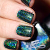 AVAILALBE AT GIRLY BITS COSMETICS www.girlybitscosmetics.com That Little Green Monster (Valentines 2017 Collection) by Colors by Llarowe | Swatch courtesy of IG@helene_____b