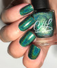 AVAILALBE AT GIRLY BITS COSMETICS www.girlybitscosmetics.com That Little Green Monster (Valentines 2017 Collection) by Colors by Llarowe | Swatch courtesy of My Nail Polish Obsession