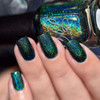 AVAILALBE AT GIRLY BITS COSMETICS www.girlybitscosmetics.com That Little Green Monster (Valentines 2017 Collection) by Colors by Llarowe | Swatch courtesy of Sakura Nail Art