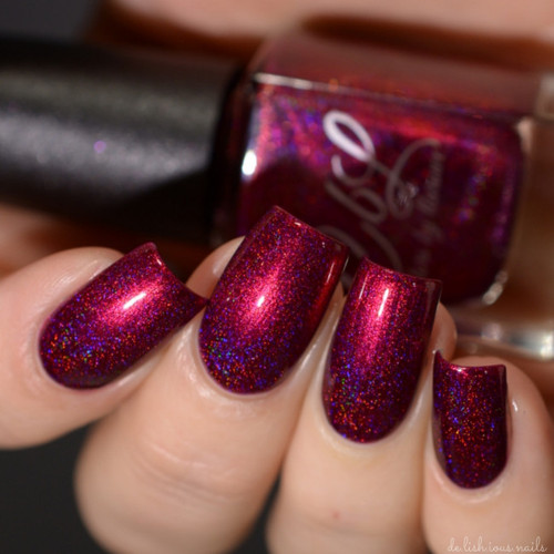 AVAILABLE AT GIRLY BITS COSMETICS www.girlybitscosmetics.com You're a Little Firecracker (Spring/Summer 2017 Collection) by Colors by Llarowe | Swatch courtesy of Delishious Nails
