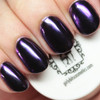 GIRLY BITS COSMETICS Majestic (SFX Duo-chrome Powder) | Swatch courtesy of The Polished Hippy