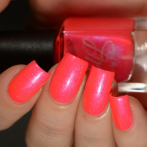AVAILABLE AT GIRLY BITS COSMETICS www.girlybitscosmetics.com One Headlight (CbL Charity Polish) by Colors by Llarowe | Swatch courtesy of Delishious Nails