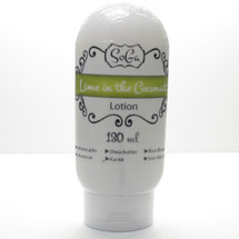 AVAILABLE AT GIRLY BITS COSMETICS www.girlybitscosmetics.com Lime in the Coconut Lotion by SoGa Artisan Soaperie